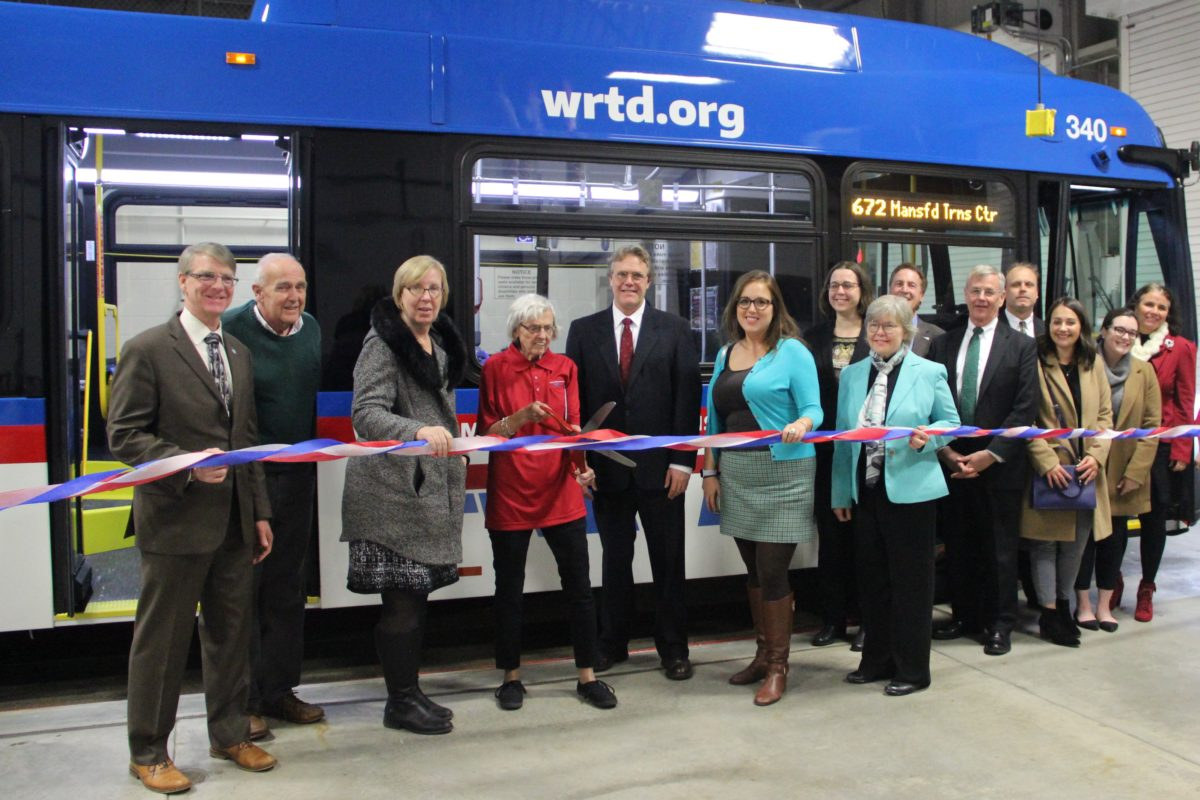 WRTD celebrates new buses and era!